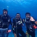 dive team Carpe Novo Maldives scuba diving