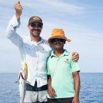 Fishing from the Carpe Vita dingy