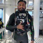Dive team leader Hussein of the Carpe Novo Maldives